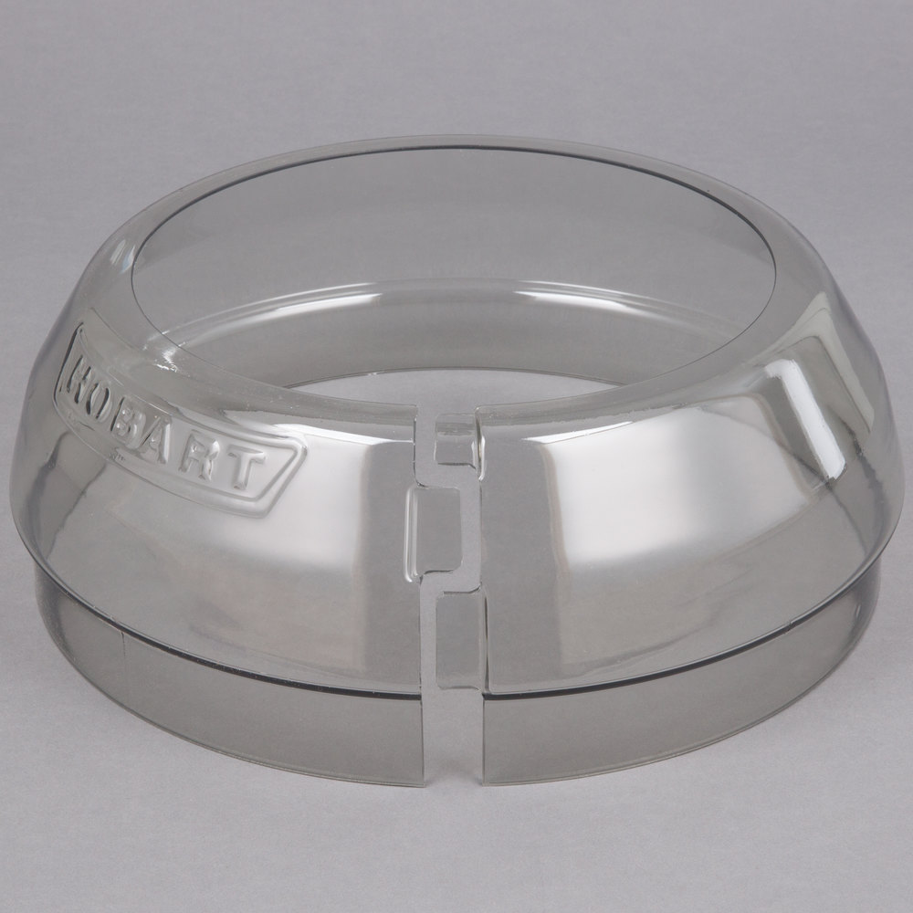 Hobart SPLASH-LEX020 Classic / Legacy Lexan Splash Cover for 20 Qt. Bowls