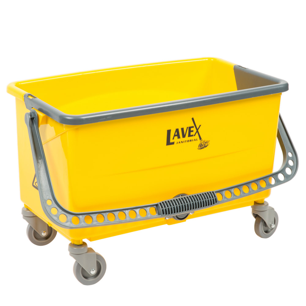 Lavex Janitorial 44 Qt No Touch Microfiber Mop Bucket