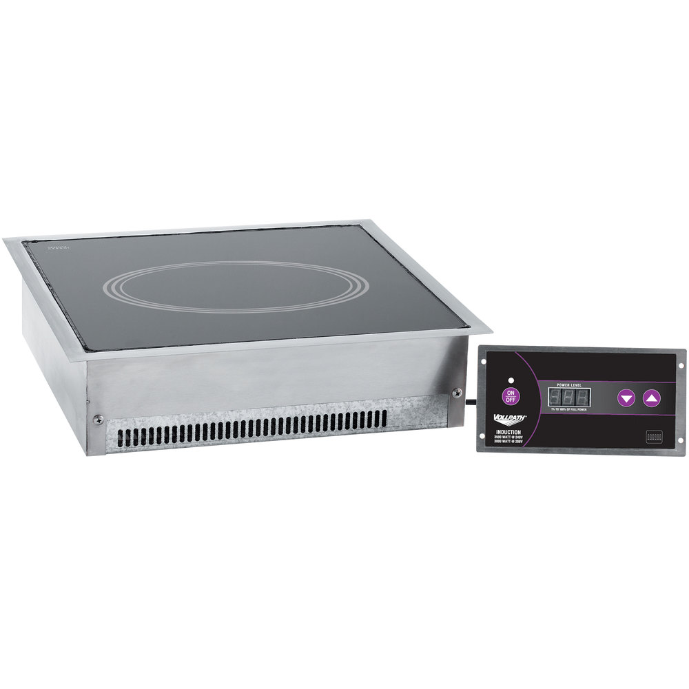 Vollrath Induction Cooker ~ Vollrath drop in induction cooker v