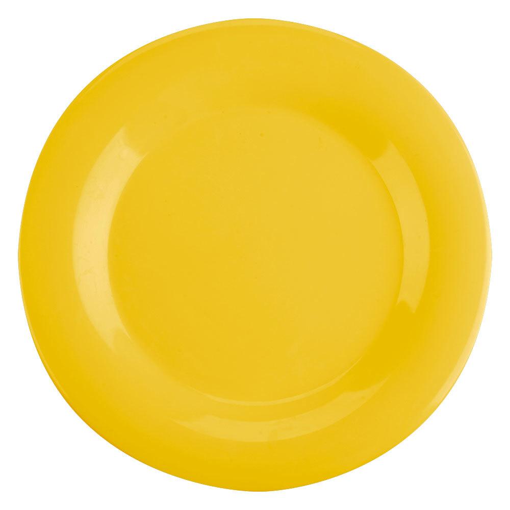 Thunder Group Cr010yw 10 1 2 Quot Yellow Wide Rim Melamine