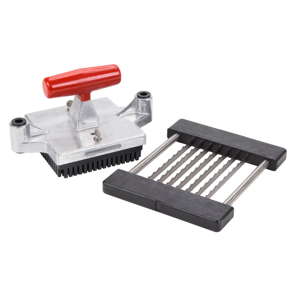 "Vollrath 55090 1/2"" Slicer Assembly for 55013 Redco Instacut 5.0 Fruit and Vegetable Dicer"