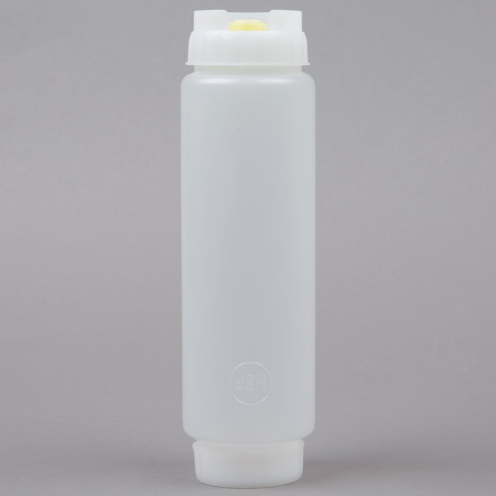 16 Oz First In First Out Quot Fifo Quot Squeeze Bottle With Lid