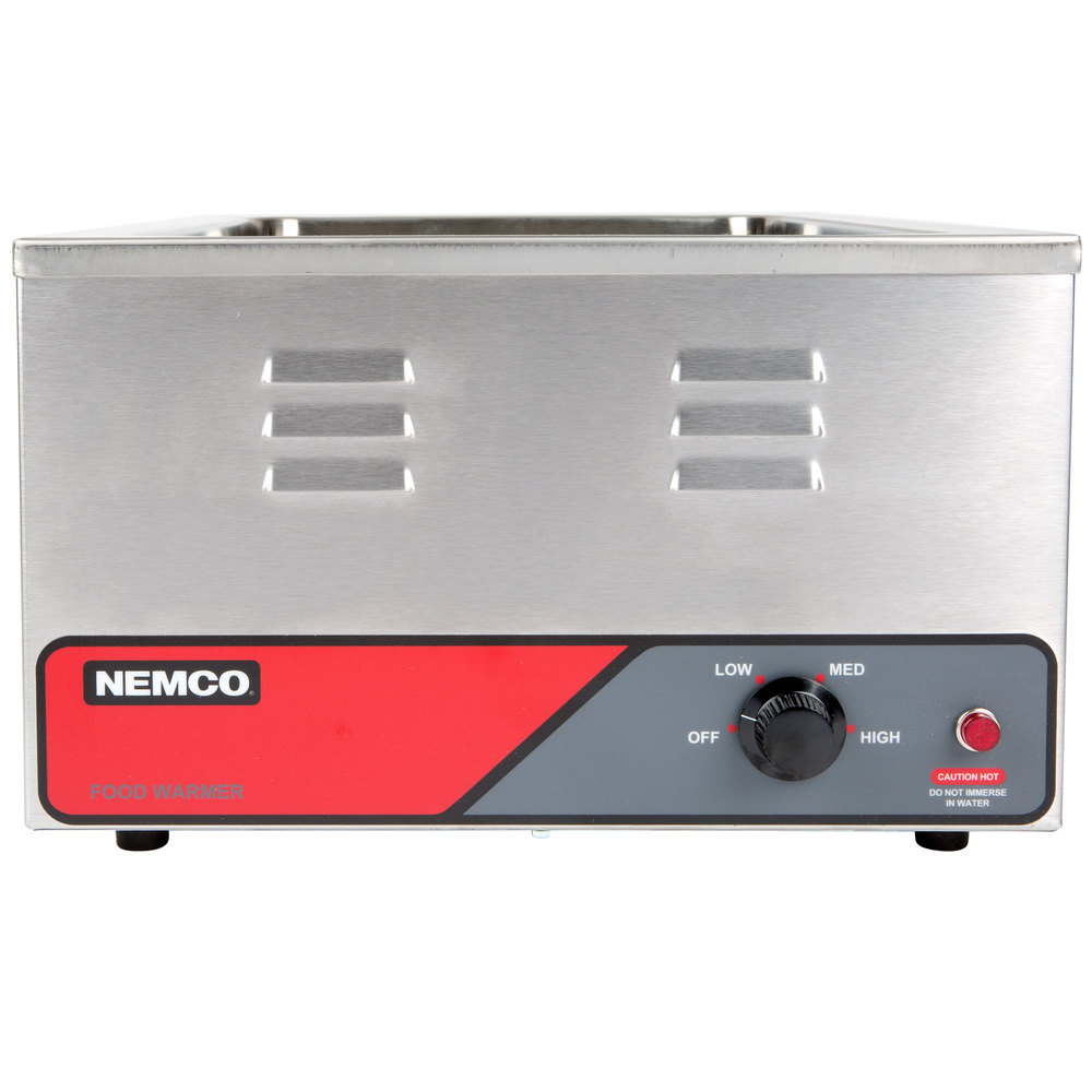 Countertop Food Warmers ~ Nemco a quot countertop food warmer v w