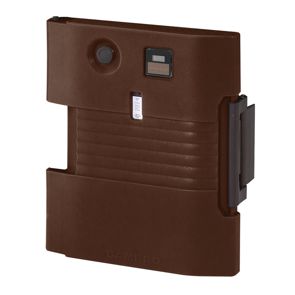 Cambro UPCHD4002131 Dark Brown Heated Retrofit Door - 220V (International Use Only)