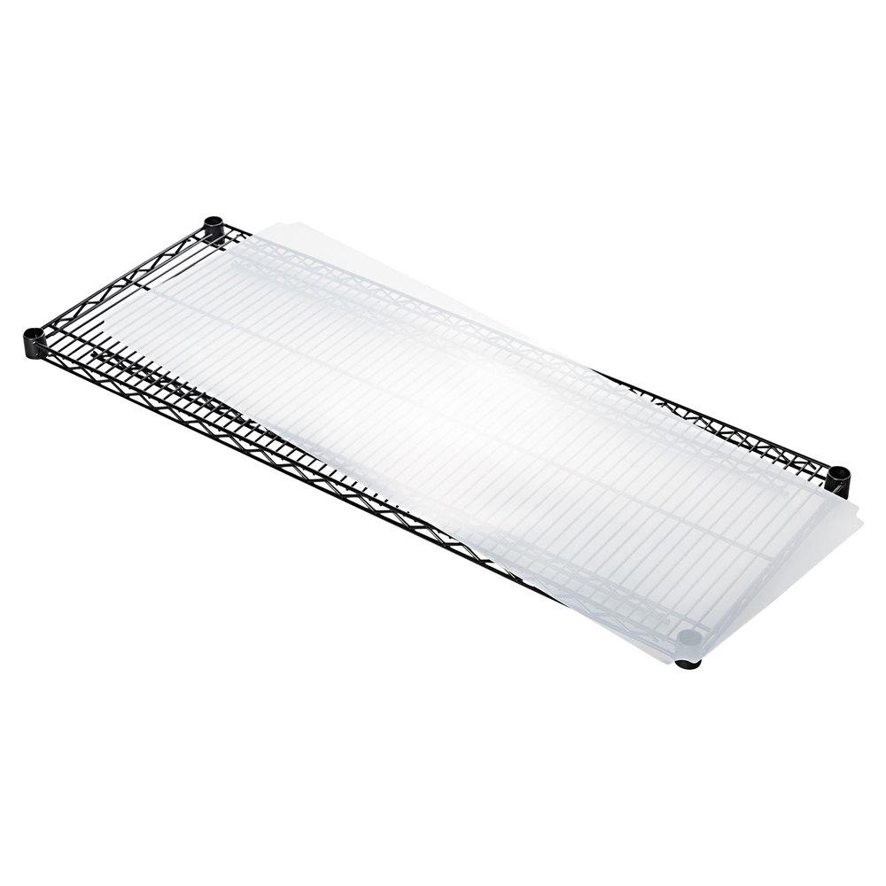"Alera ALESW59SL4818 18"" x 48"" Clear Plastic Shelf Liner ..."