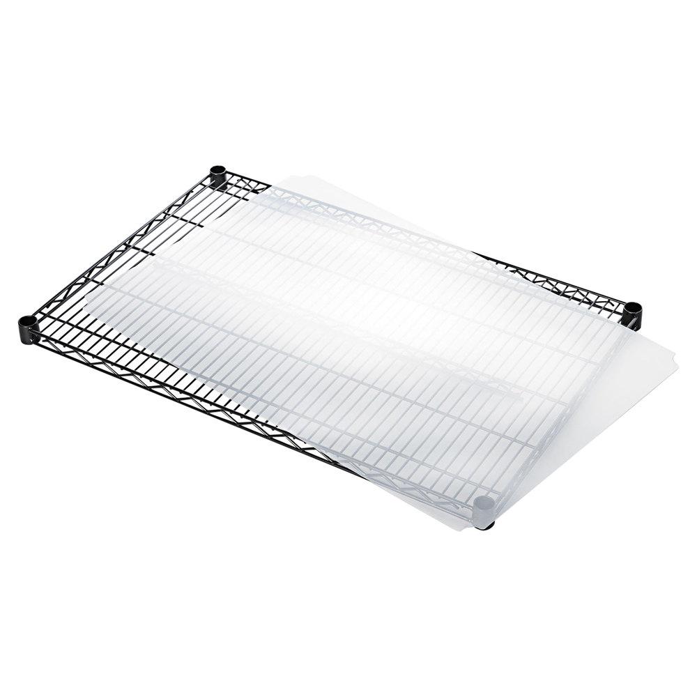 "Alera ALESW59SL3624 24"" x 36"" Clear Plastic Shelf Liner ..."
