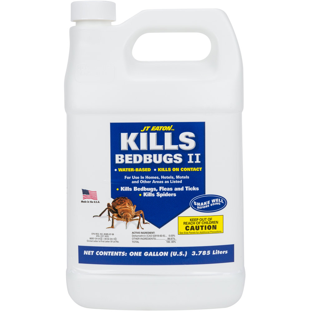JT Eaton 207-W1G Water Based Bed Bug Spray Killer Insecticide - 1 Gallon