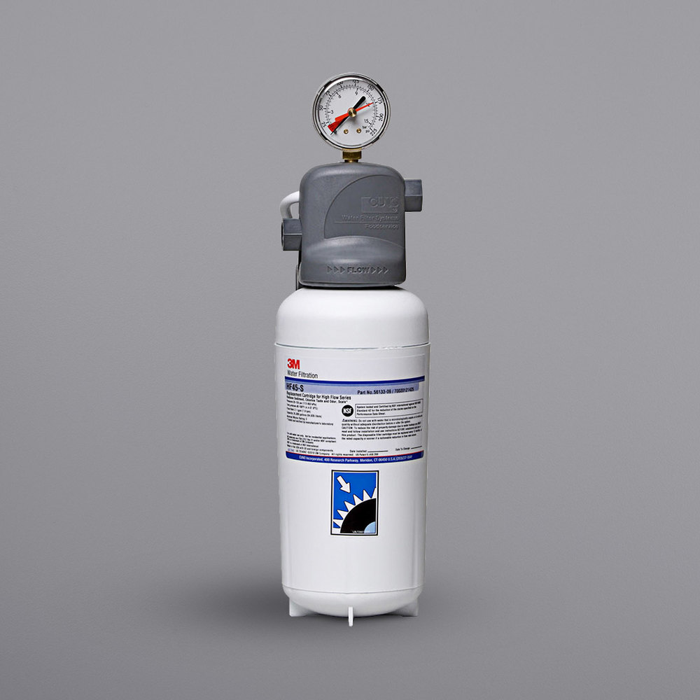 3M WATER FILTRATION PRODUCTS HF45-S Cartridge,For ICE145-S