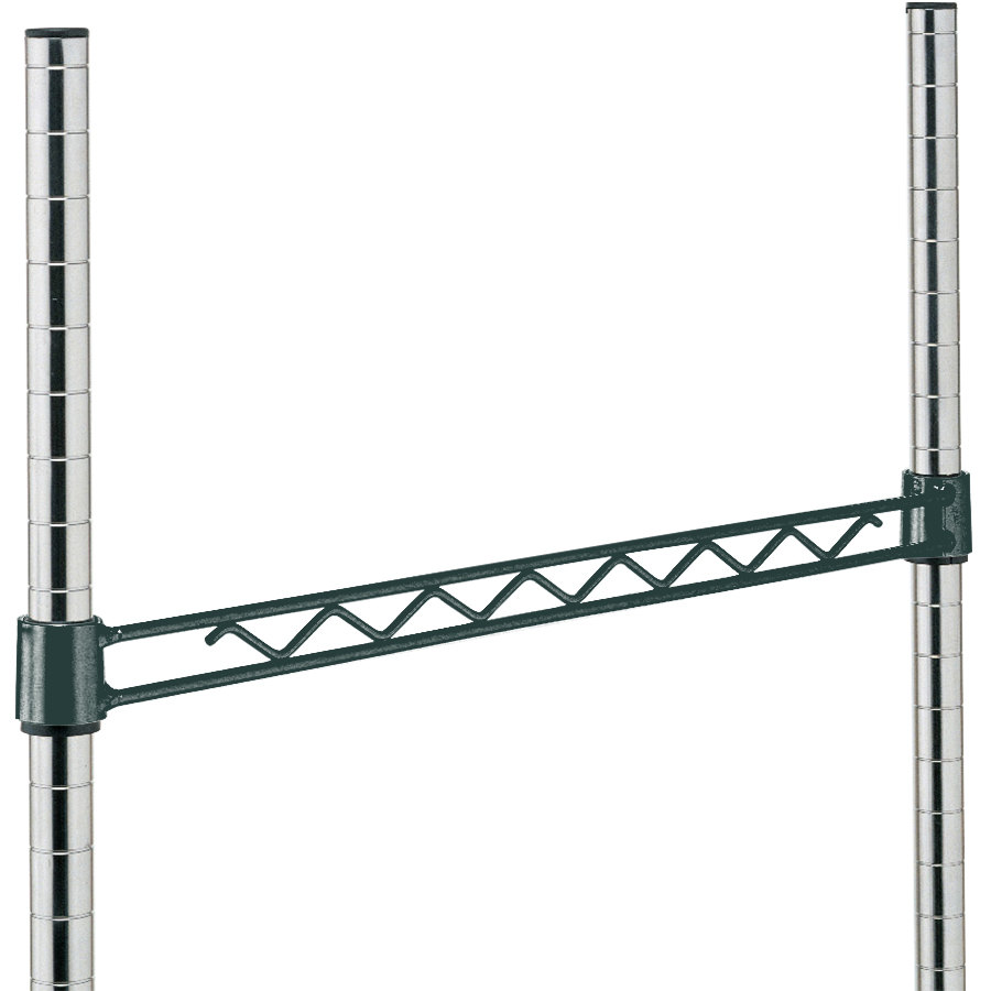 Metro H114-DSG Smoked Glass Hanger Rail 14""