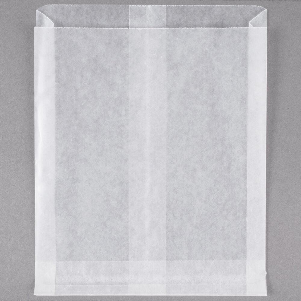 Bagcraft Packaging 300404 White Wet Wax Sandwich Bag 1000 Box