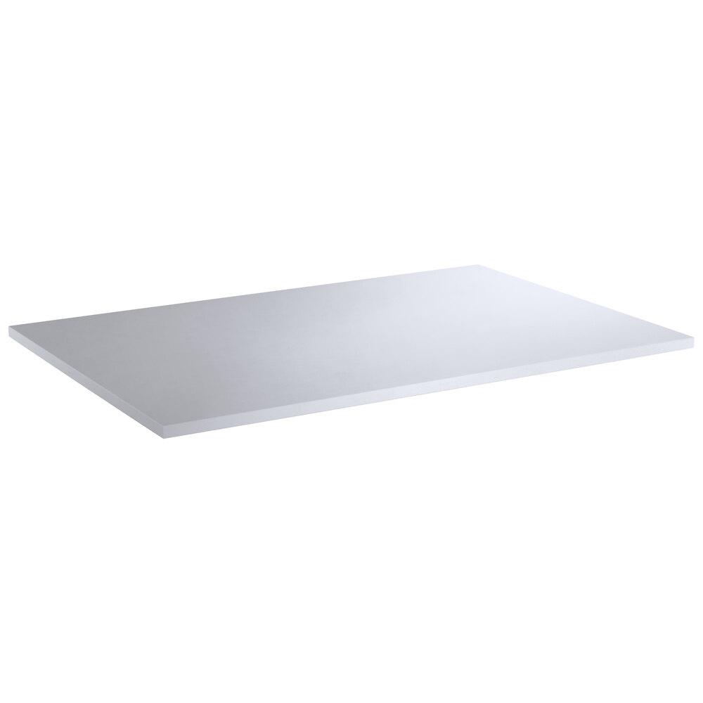 Regency 24 inch x 36 inch Poly Top Equipment Table Top for 24 inch x 72 inch 14-Gauge 364 Stainless Steel Poly Top Table