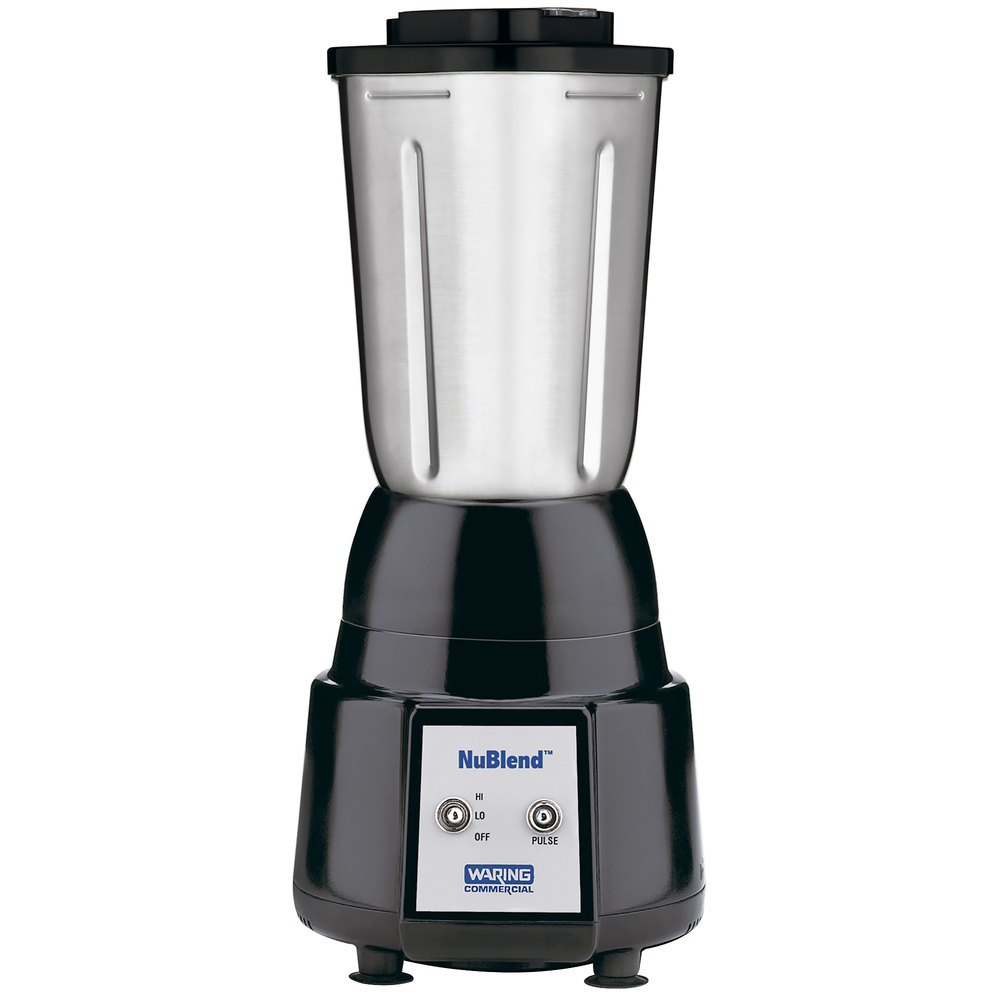 Waring Bb180s Nublend 2 Sd Commercial Bar Blender With Stainless Steel Container 32 Oz