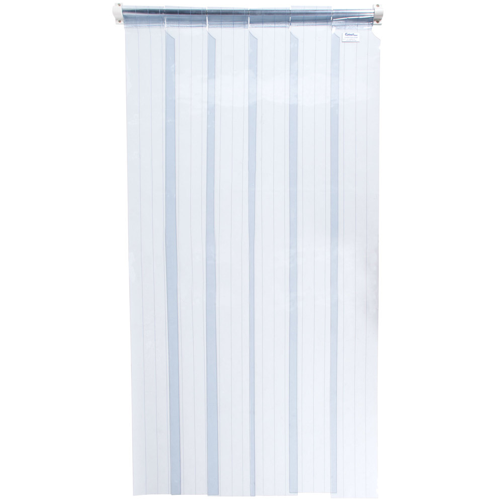 walk in refrigerator curtains - webstaurantstore