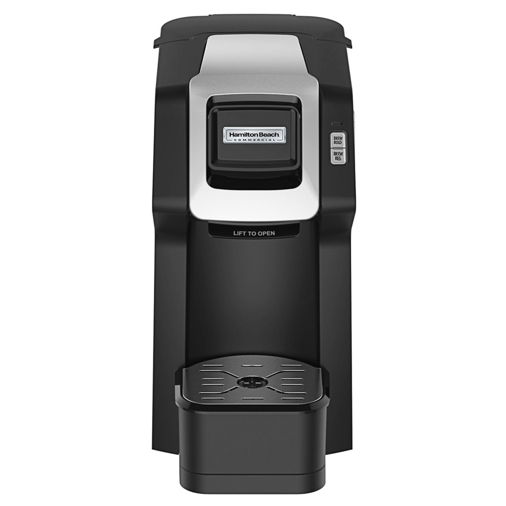 Hamilton Beach Hdc311 Black Commercial Hospitality Single Serve Coffee Maker 120v 1050w