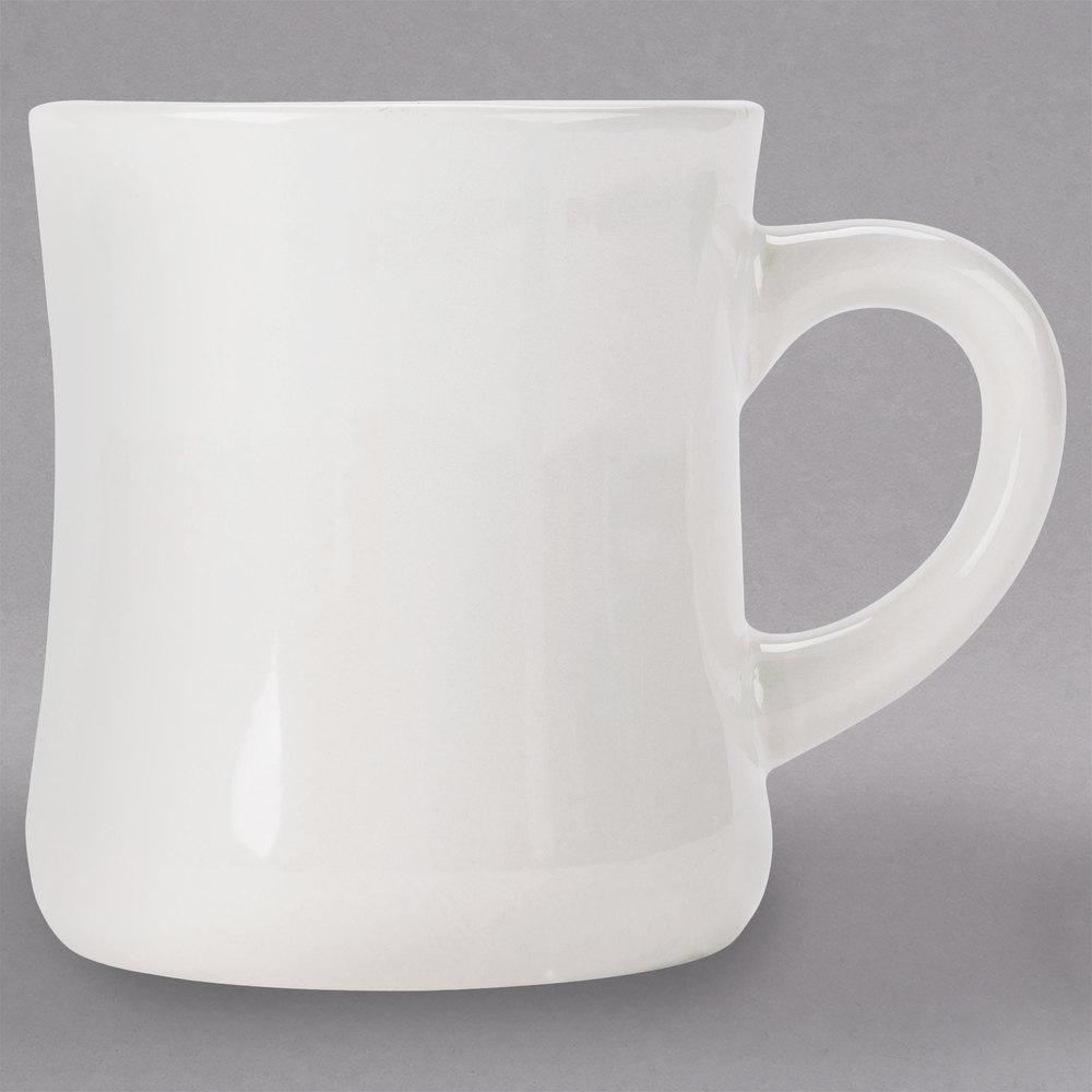 Core 12 Oz Ivory American White Victor China Coffee Mug