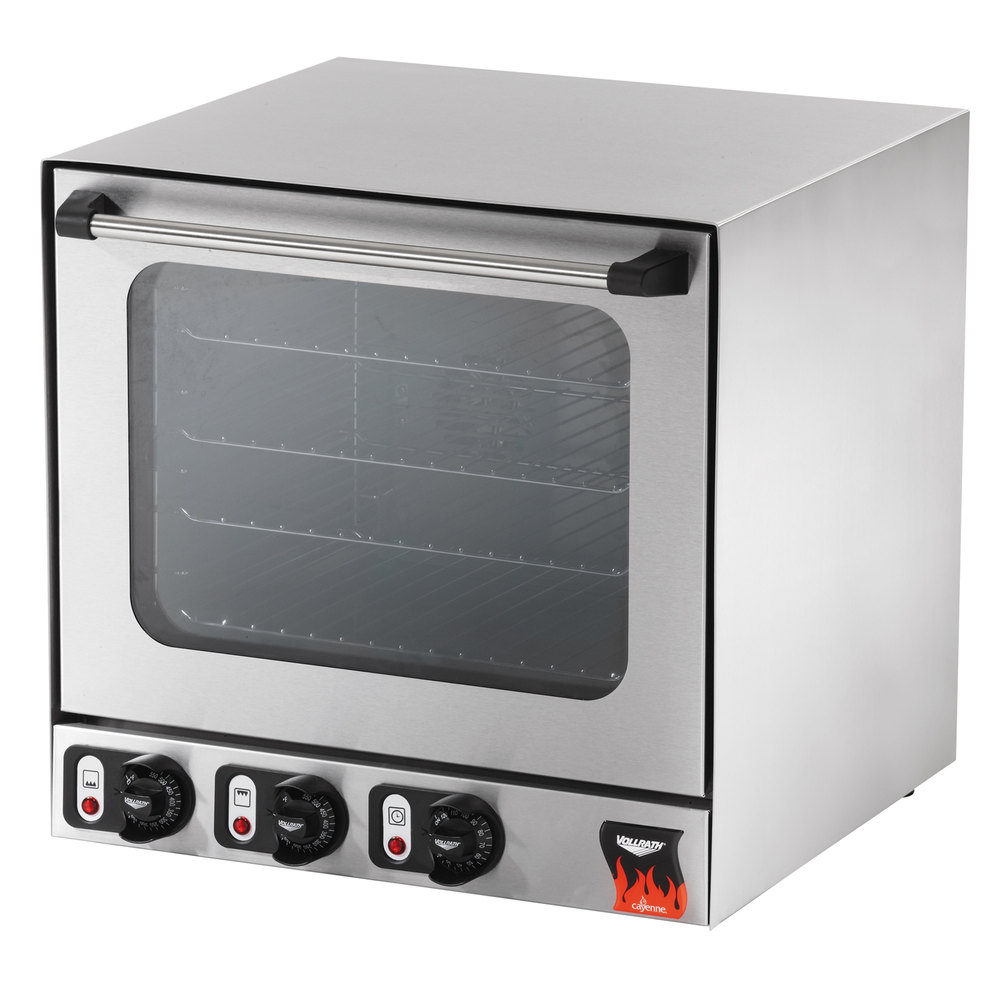 Half Size Countertop Convection Oven : Vollrath 40701 Cayenne Half Size Countertop Convection Oven - 230V