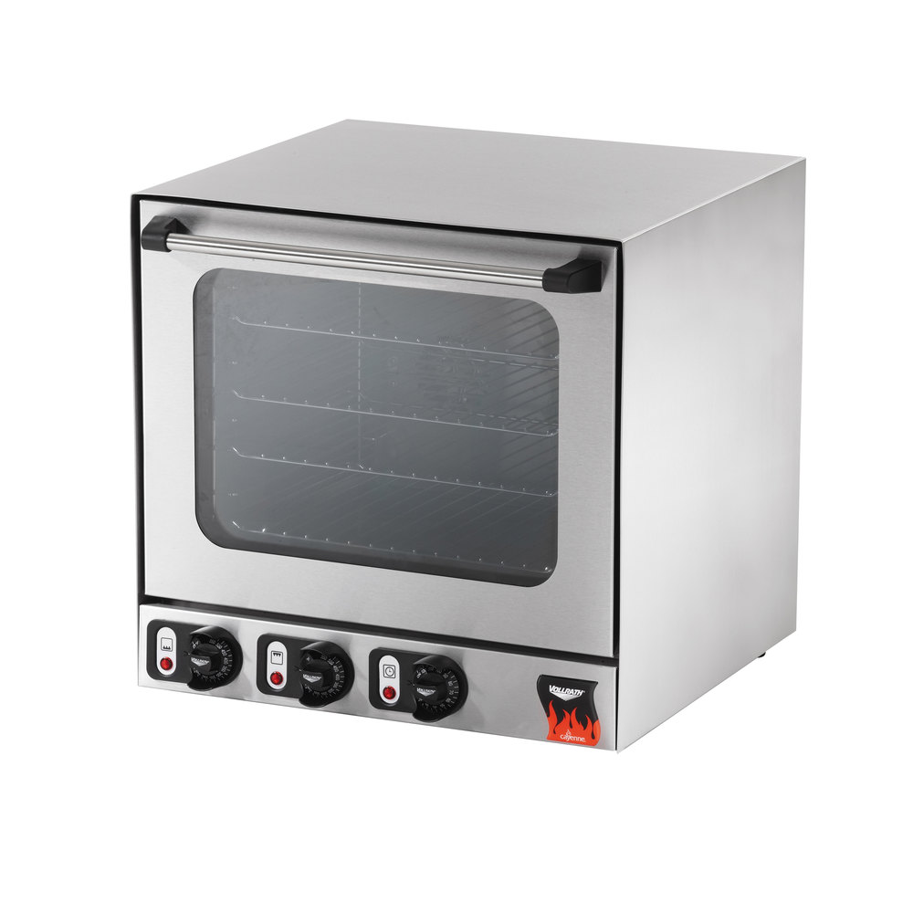 Vollrath Countertop Convection Oven : Vollrath 40701 Cayenne Half Size Countertop Convection Oven - 230V