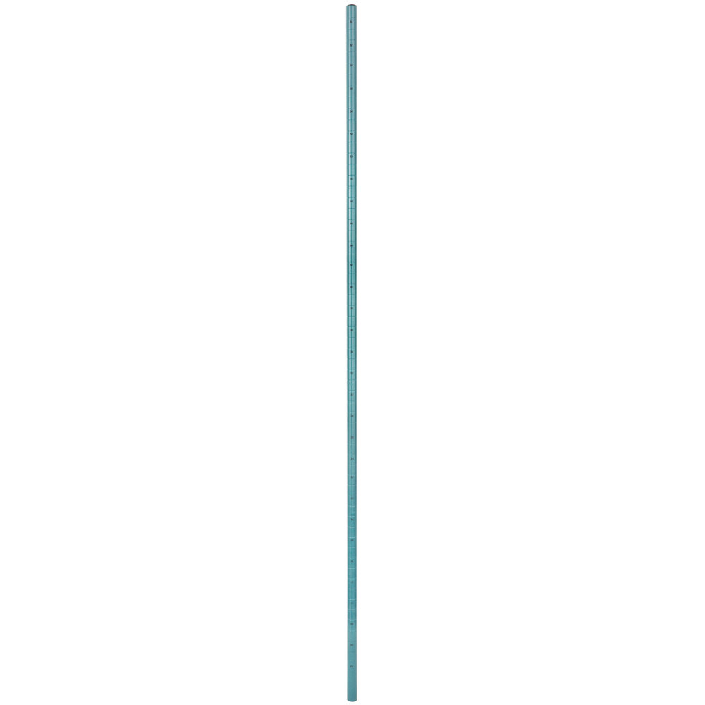 Regency 64 inch NSF Green Epoxy Mobile Shelving Post