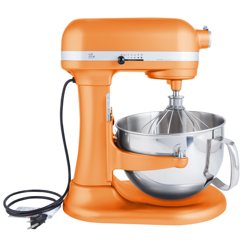 Kitchenaid Kp26m1xtg Tangerine Professional 600 Series 6