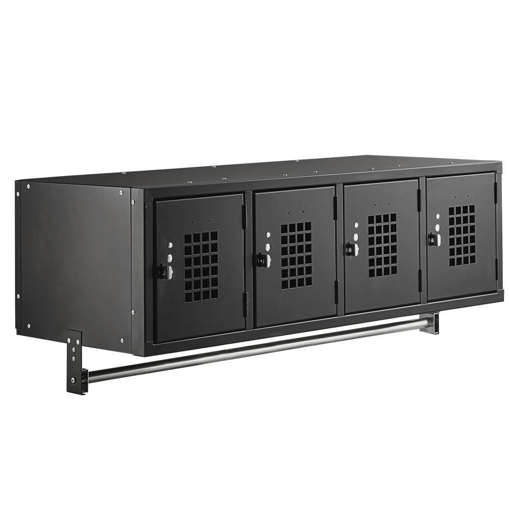 Regency Space Solutions Black 45 inch x 18 inch Wall Mount Locker