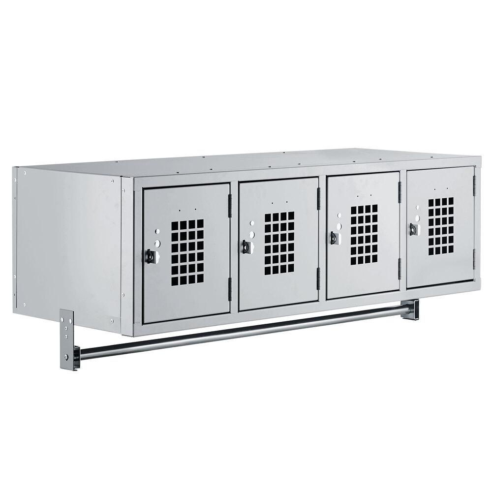Regency Space Solutions Gray 45 inch x 18 inch Wall Mount Locker