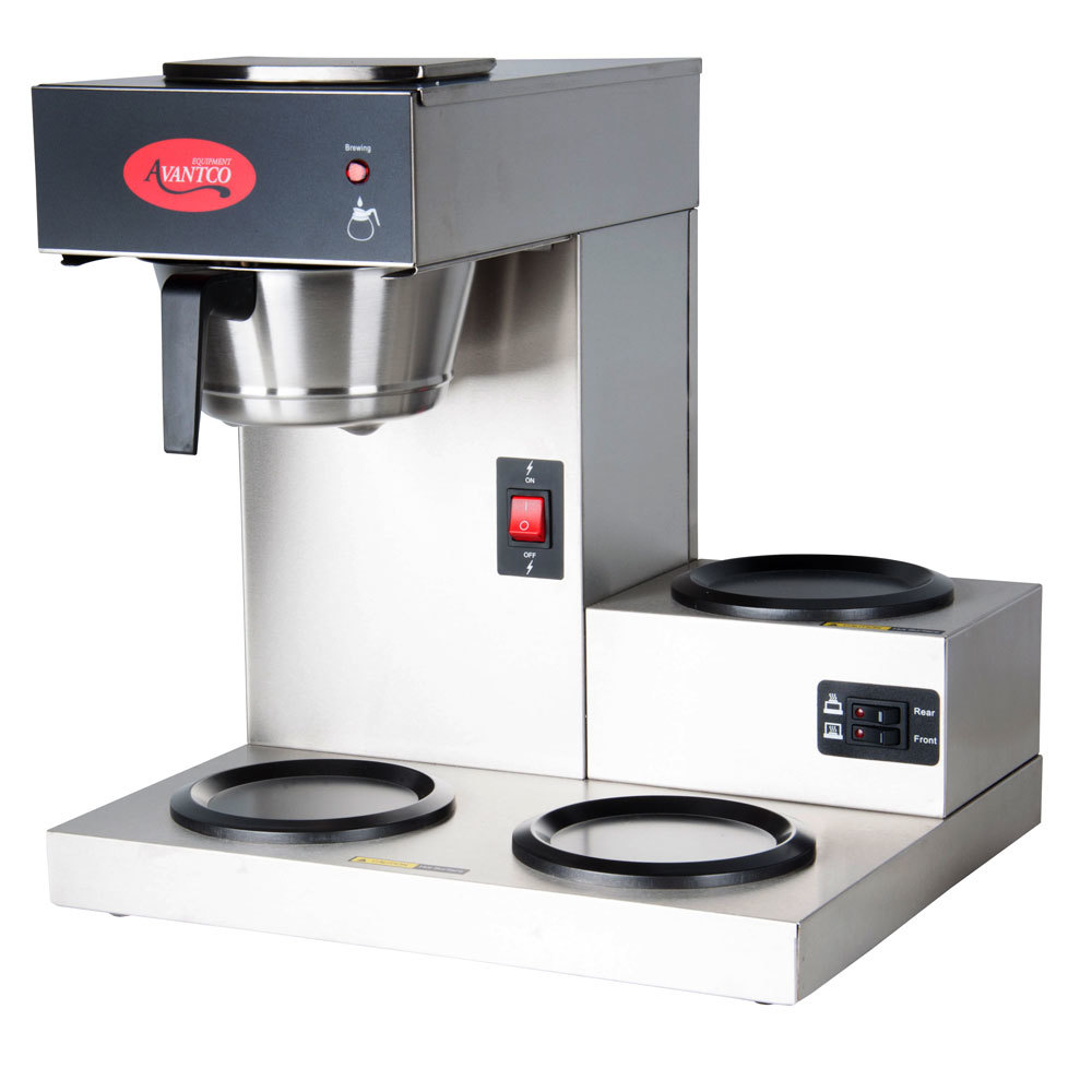 Commercial Coffee Maker ~ Avantco c pourover commercial coffee maker with