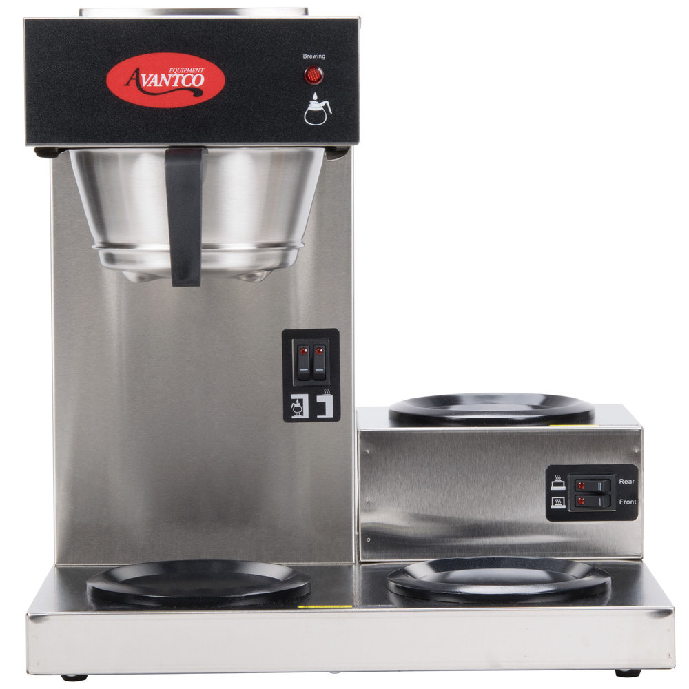 Avantco C30 Pourover Commercial Coffee Maker With 3