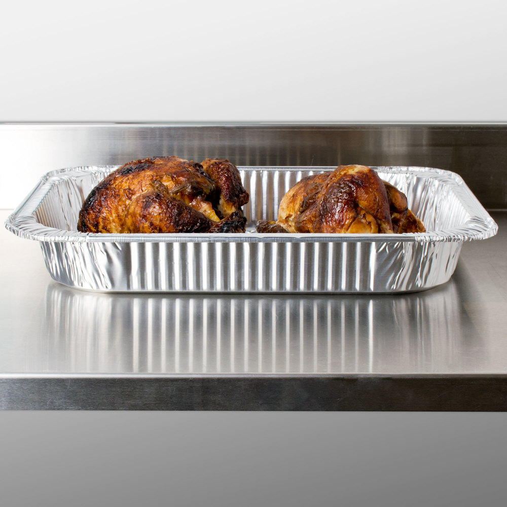 Durable Packaging 41110 Foil Roast / Casserole Pan - 50/Case