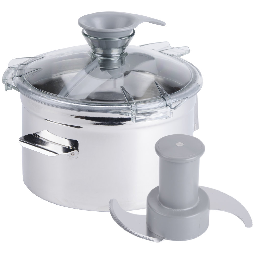 Robot Coupe 27165 5 Qt. Stainless Steel Bowl Assembly