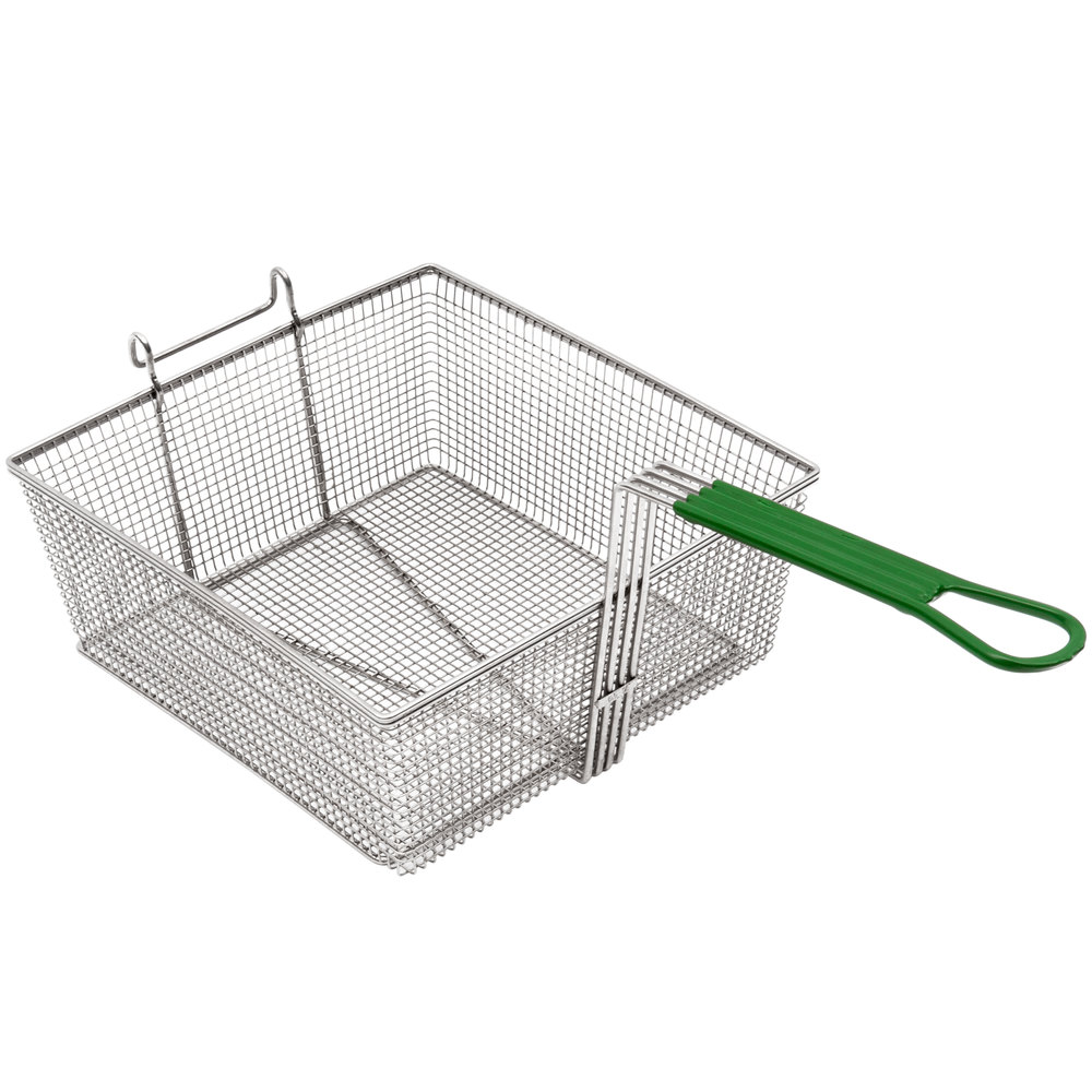 "Frymaster 8030099 12 1/2"" x 13 1/2"" x 5 1/4"" Full Size Fryer Basket"