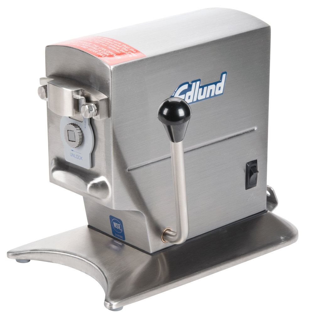 Edlund 270B Two-Speed Tabletop Heavy-Duty Electric Can Opener with Security Lock-Down Bracket - 115V