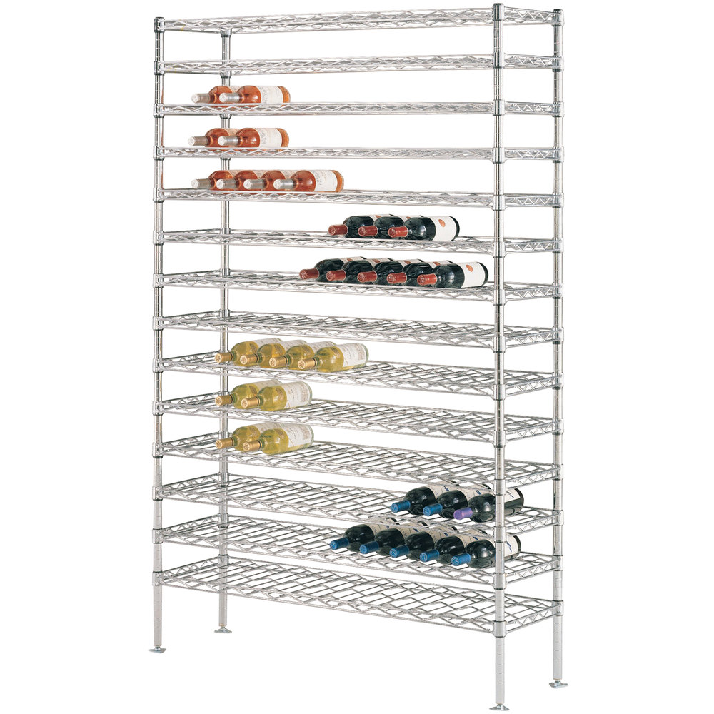 "153 Bottle Metro WC238C Super Erecta Cradle Wine Rack 36"" x 14"" x 86 3/4"""
