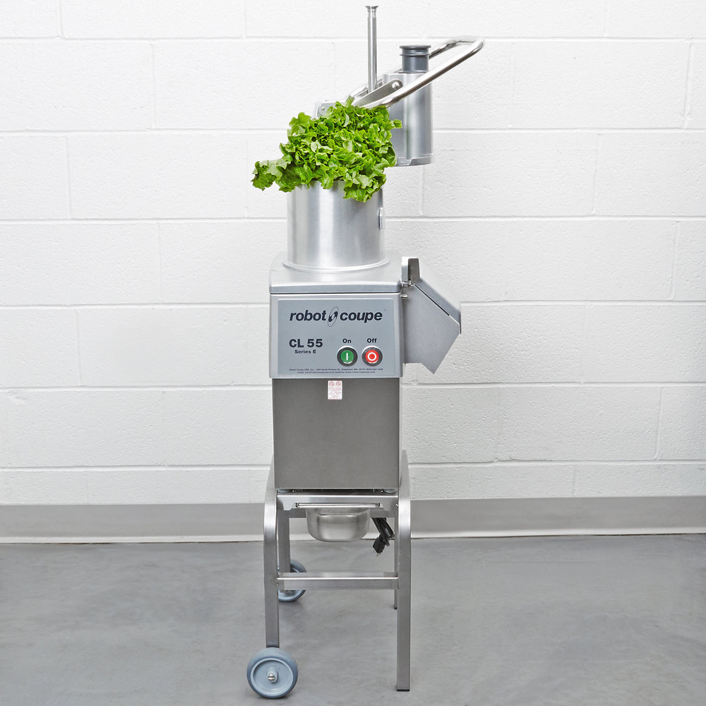 Robot Coupe CL55 Pusher Food Processor - 2.5 hp