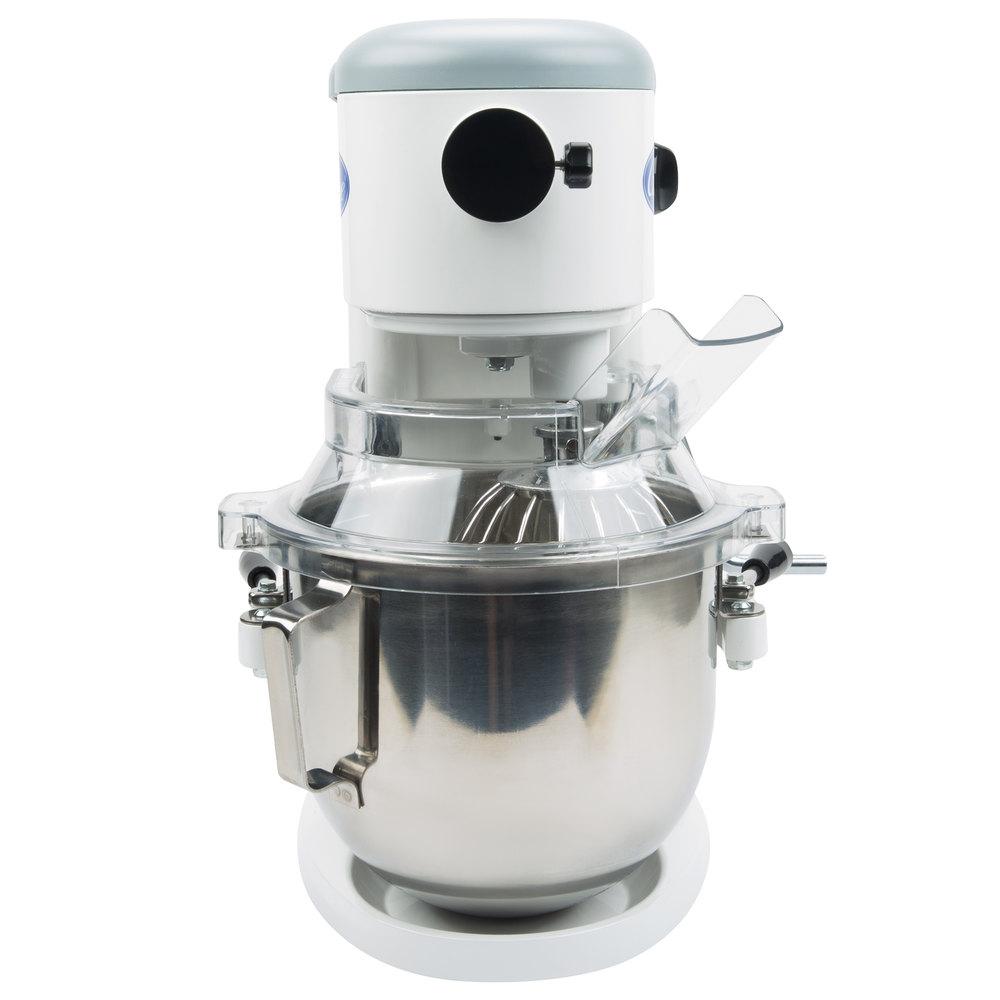 Globe SP5 Gear Driven 5 Qt. Commercial Countertop Mixer - 115V, 800W