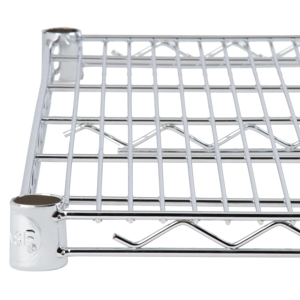 Regency 18 inch x 36 inch NSF Chrome Wire Shelf