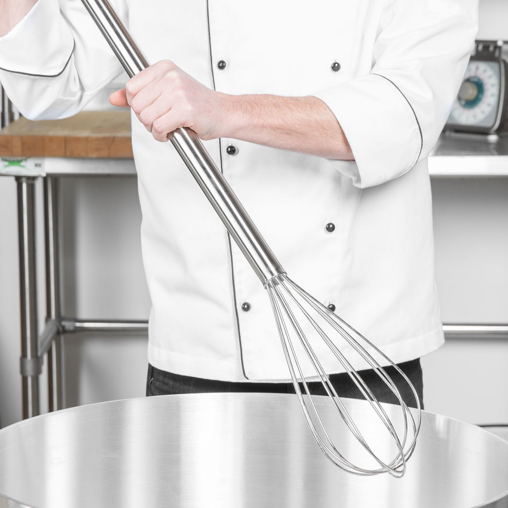 "40"" Stainless Steel Piano Whip/Whisk"