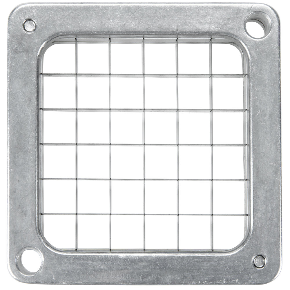 "Nemco 55424-3 1/2"" Square Cut Blade and Holder Assembly for 55500 Easy Chopper and 55450 Easy FryKutter"