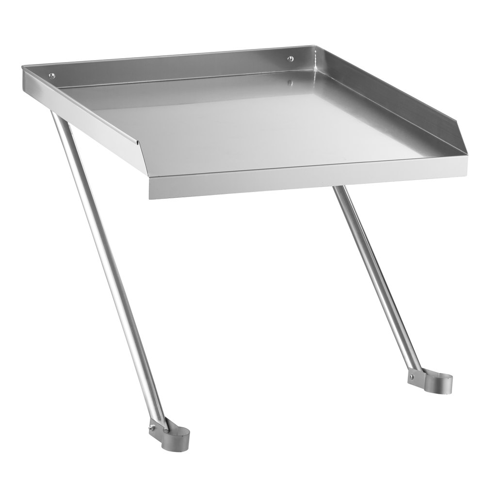 Regency 24 inch x 24 inch 18-Gauge Stainless Steel Detachable Drainboard