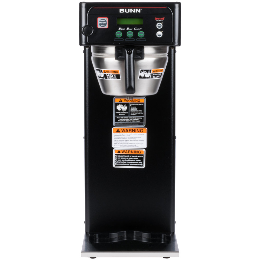 Bunn 366000004 Brewwise Icb Dv Black Infusion Coffee Brewer Dual Parts Catalog Wiring Diagram Voltage