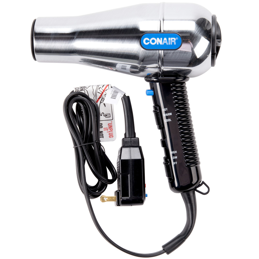 style hair with dryer conair 141wrw size brushed metal salon style hair 7308
