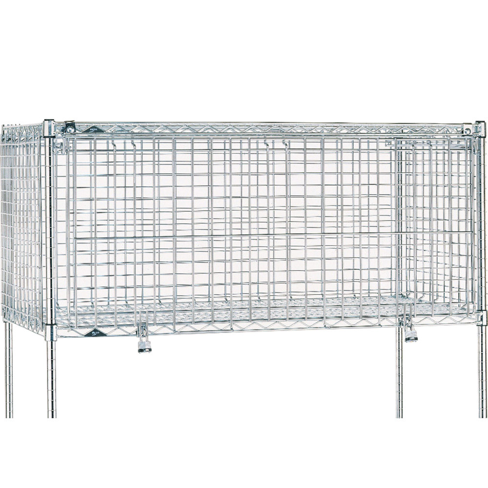 "Metro SECM2460NC 24"" x 60"" x 24"" Super Erecta Security Module"