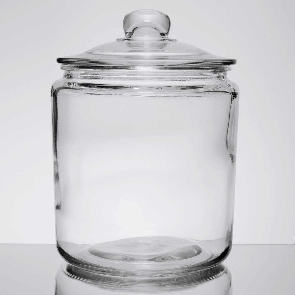 Gallon Glass Cookie Jar
