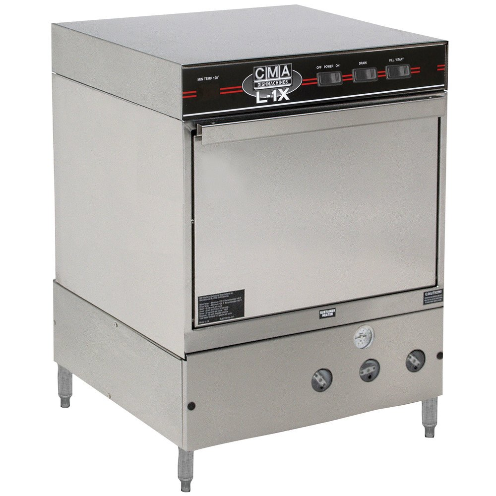 CMA Dishmachines L-1X Undercounter Dishwasher Low Temperature 30 Racks / Hour - 115V