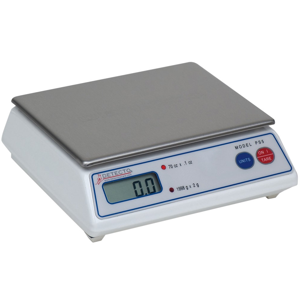 Cardinal Detecto PS-5A 5 lb. Electronic Portion Scale