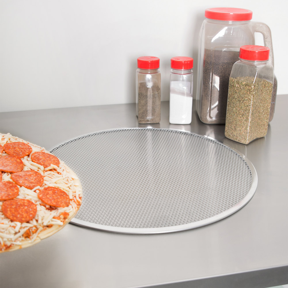 "18"" Aluminum Pizza Screen"