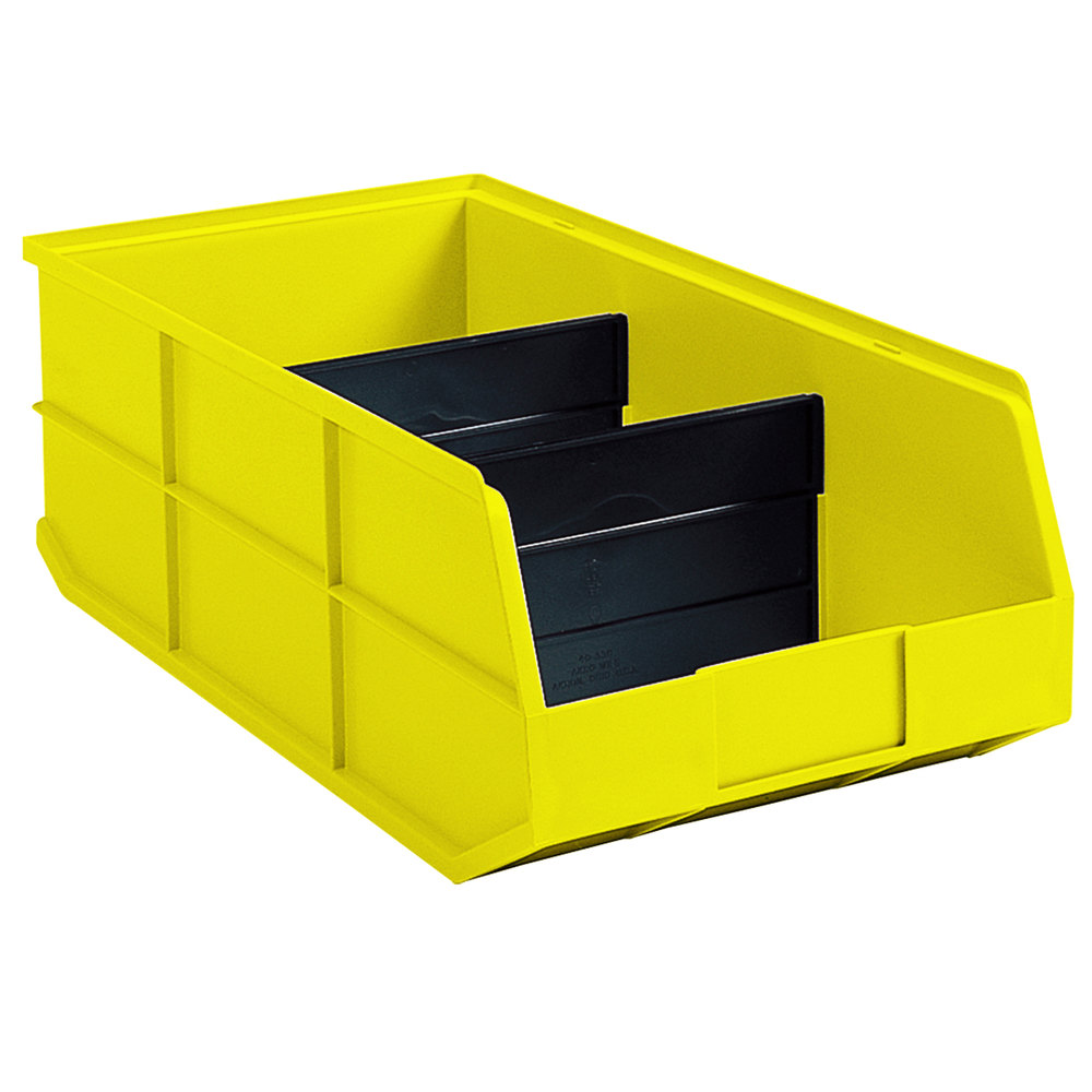Metro MB40170 Divider for MB30174Y and MB30178Y Yellow Nesting Bins - 24/Pack