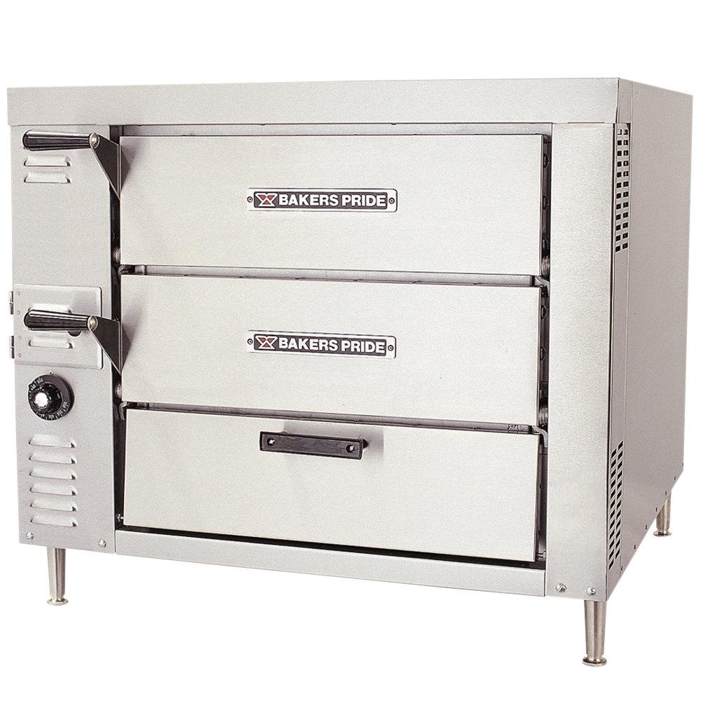 Countertop Stove Propane : Liquid Propane Bakers Pride GP-52 Gas Countertop Oven - 80,000 BTU