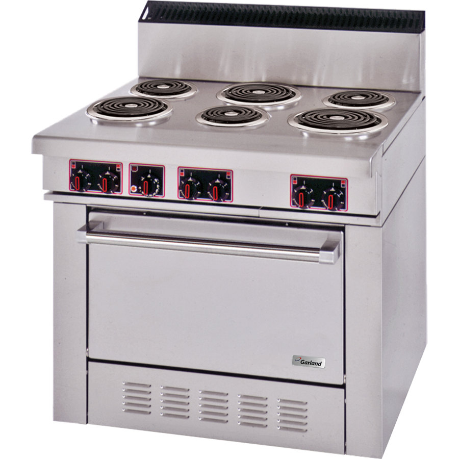 Electric Oven Open ~ Garland s sentry series open burner electric