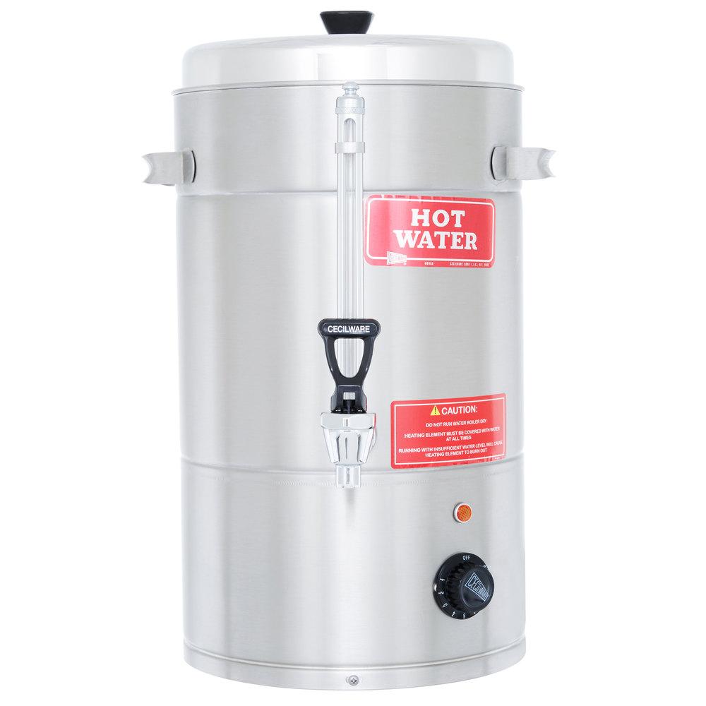 Portable Water Boiler ~ Grindmaster cs portable hot water boiler gallon