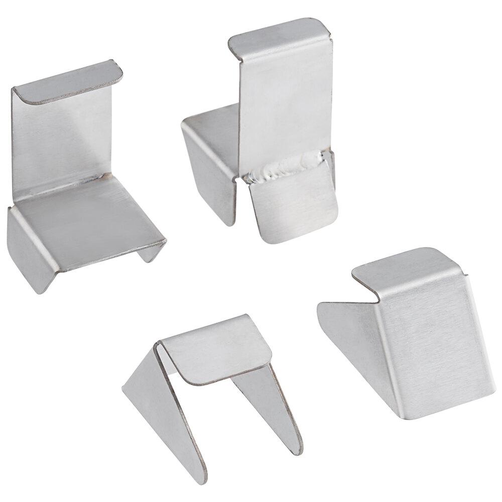 Regency Enclosed Base Table Mid-Shelf Clip - 4/Pack
